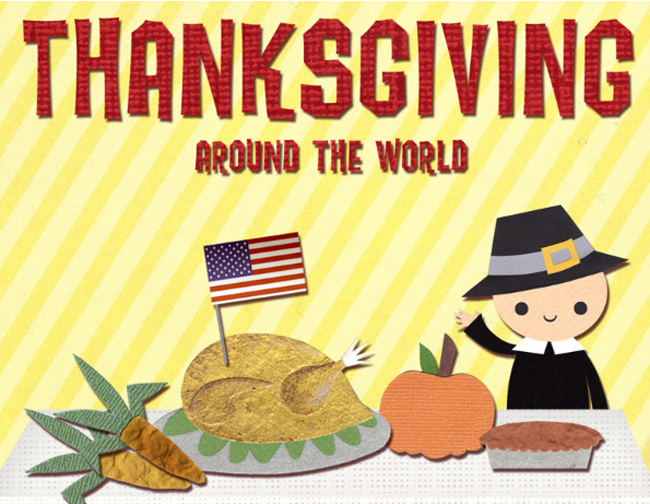 Thanksgiving Around the World (Infographic)