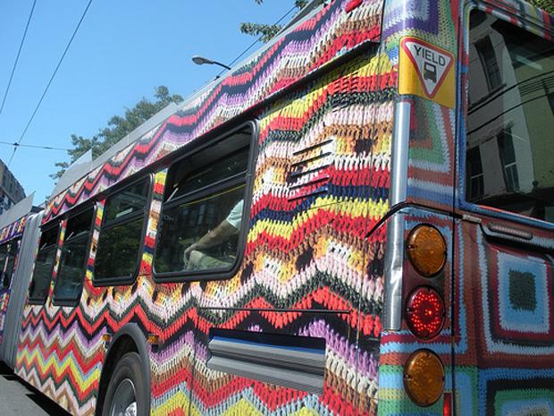 Crochet Bus