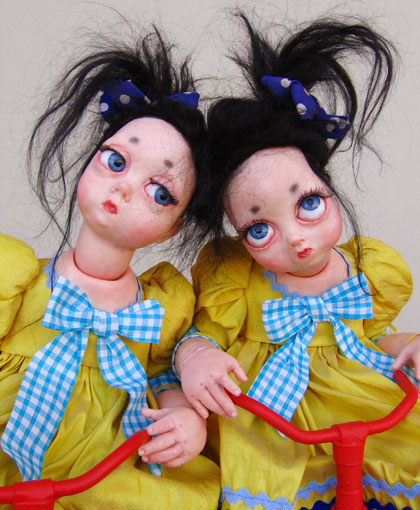 Shocking but Creative Dolls by Julien Martinez