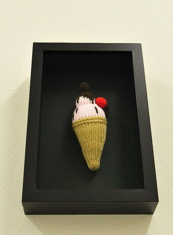 Knitted Sculpture Artworks by Thomas C. Chung - A Little Artist