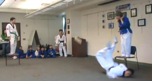 Tae Kwon Do Kick Fail