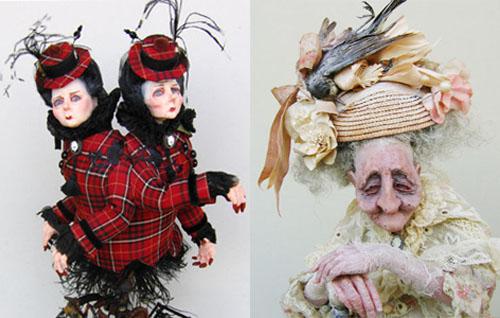 Shocking but Creative Dolls by Julien Martinez